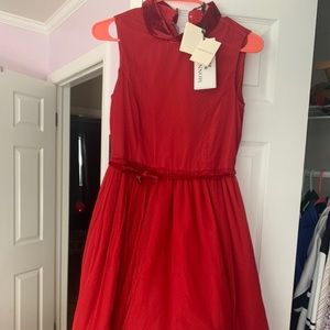 Monnalisa NWT Italy Girls Christmas Dress! 10/12